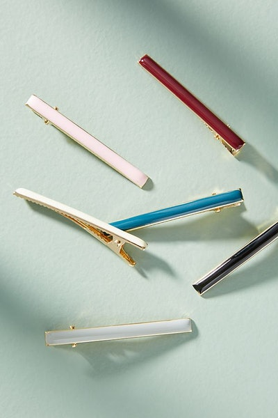 Resin Hair Clip Set