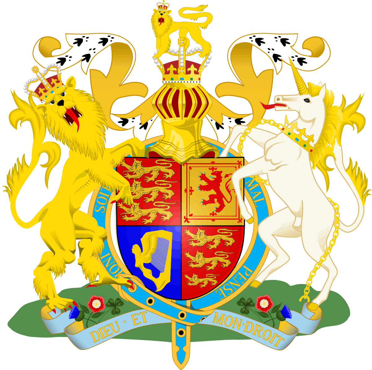 All The Royal Coat Of Arms Are Gorgeous, Especially Meghan