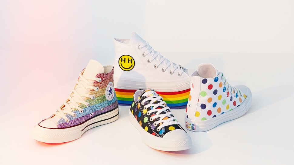 bc08ba105fb745 What s In The Miley Cyrus x Converse LGBTQ Pride Collection  It s A Rainbow  Of Awesome Shoes   Beyond