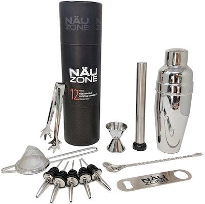 NAUZone Professional Cocktail Shaker Set