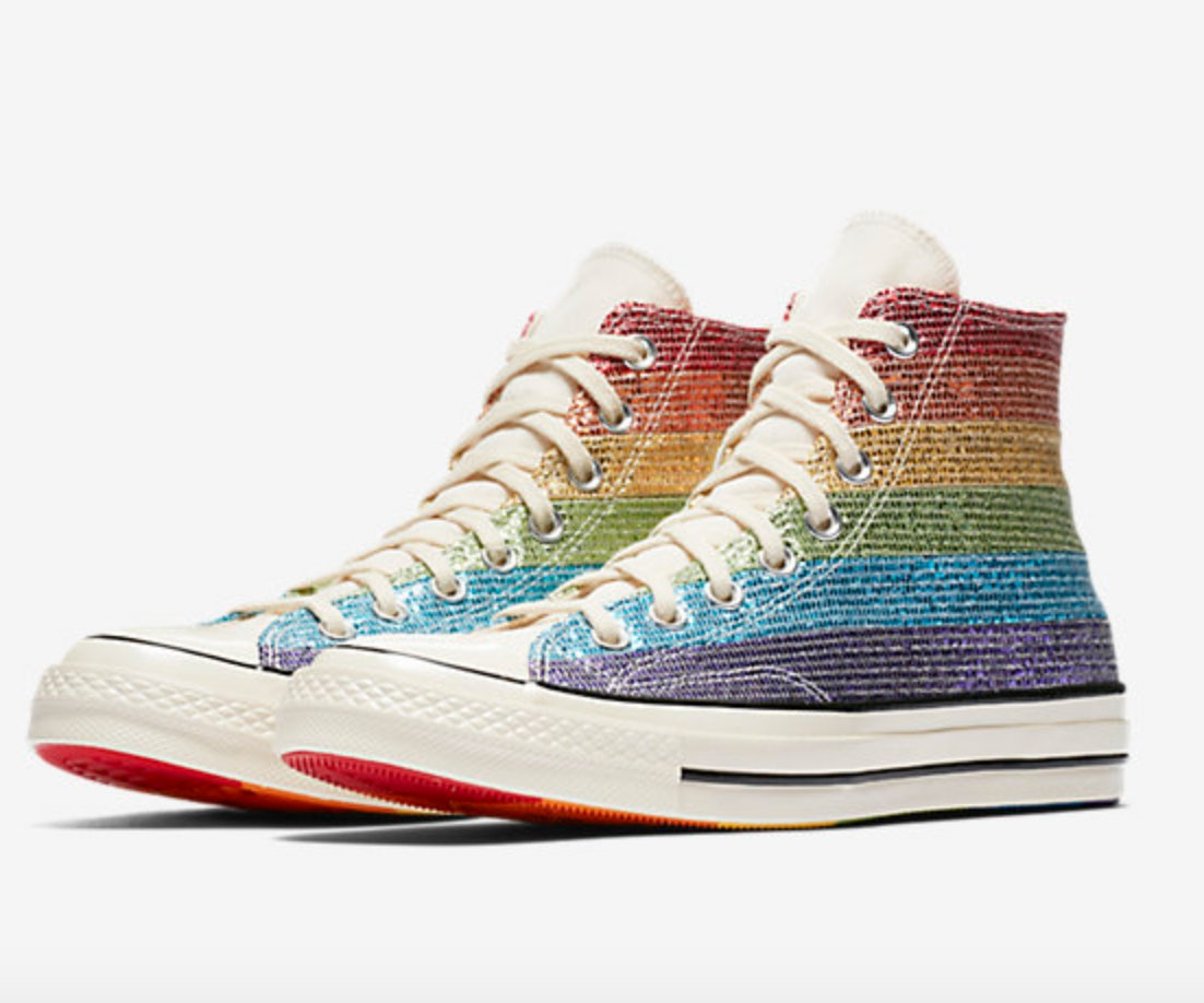 1d8694006e51 What s In The Miley Cyrus x Converse LGBTQ Pride Collection  It s A Rainbow  Of Awesome Shoes   Beyond