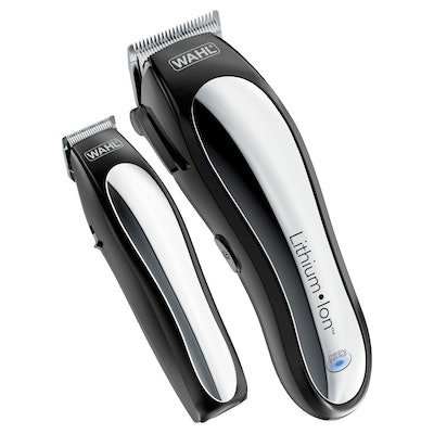Wahl Lithium Ion Pro Men's Cordless Haircut Kit with Finishing Trimmer & Soft Storage Case