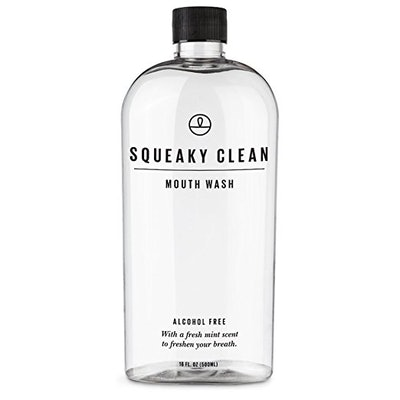 Squeaky Clean Fresh Breath Mouth Wash