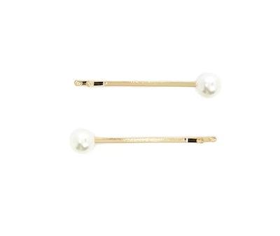Faux Pearl Bobby Pin Set