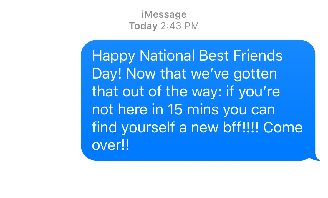 11 Funny Text Messages To Send Your Best Friends On National