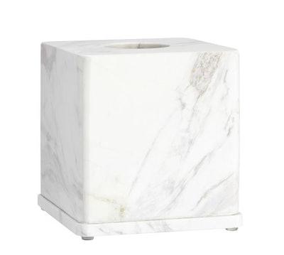 Monique Lhuillier Marble Tissue Box
