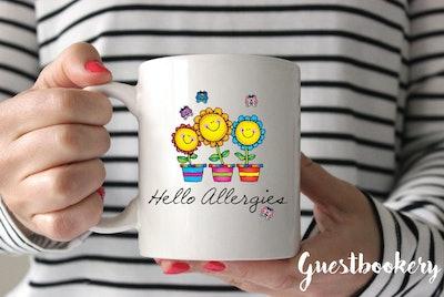 Hello Allergies Mug