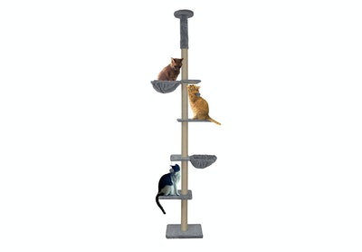 Roypet Adjustable Cat Climbing Tree with Perches