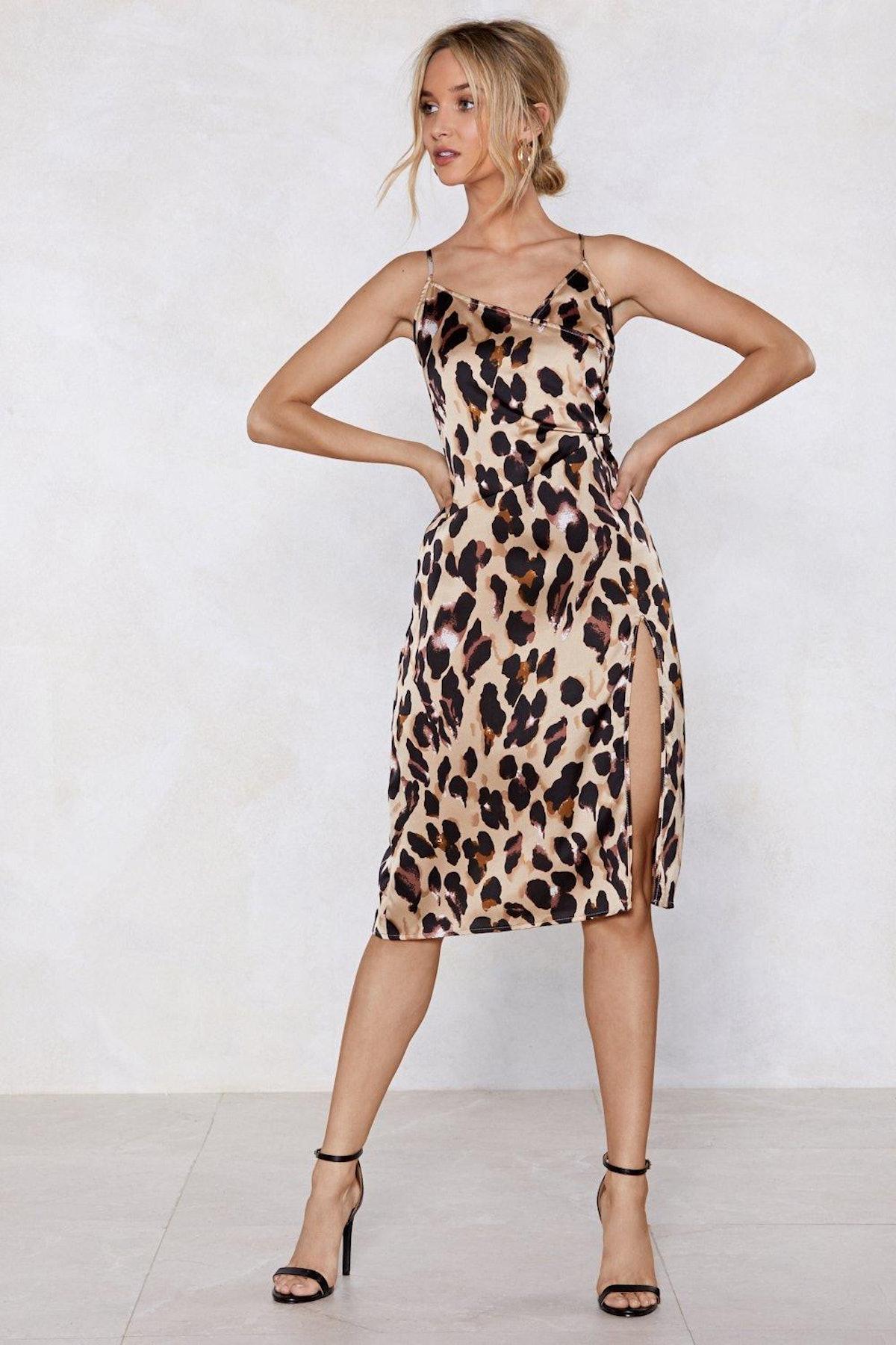 So Fierce Leopard Dress