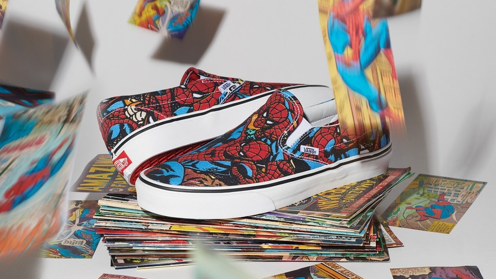 51398b89aa How Much Is The Vans x Marvel Collection  You Won t Go Broke Shopping This  Superhero Line