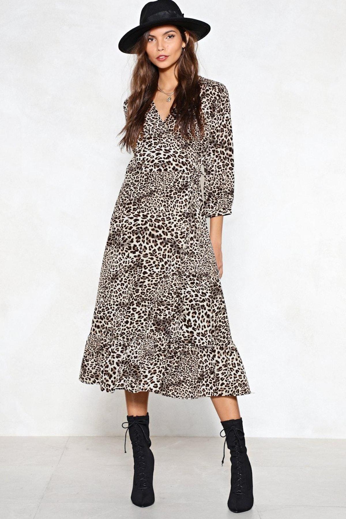 Fast Track Leopard Dress