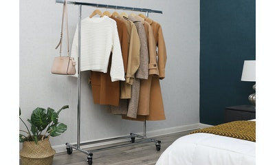 Songmics Collapsible Clothing Rack