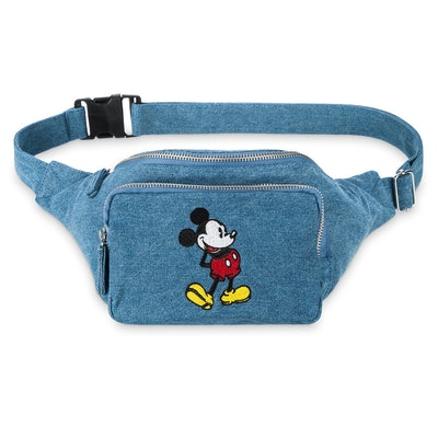 Mickey Mouse Denim Hip Pack