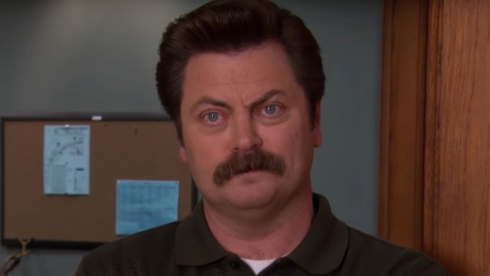 10 Parenting Hacks From Ron Swanson Thatll Guarantee Results
