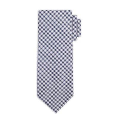 Men's Gingham Necktie