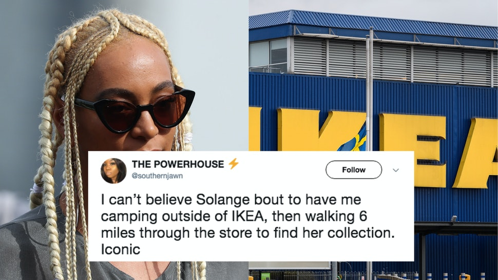 Ikea Solange Knowles Are Collaborating Through A Saint Heron Line