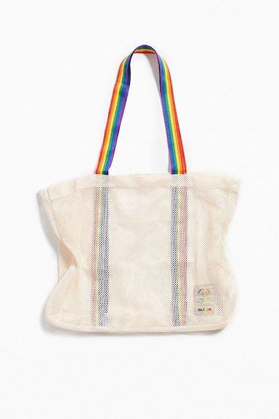 UO Community Cares + GLSEN Pride 2018 Rainbow Tote Bag