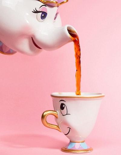 Disney Mrs Potts Tea Pot and Cup