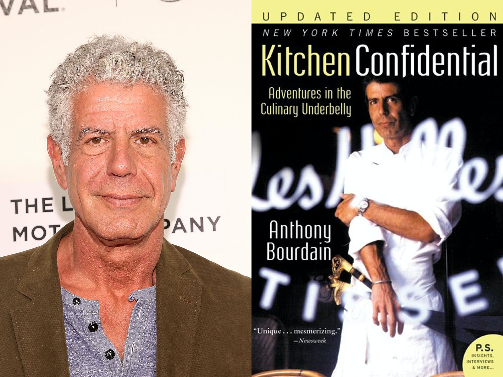 3 Anthony Bourdain Books That Everyone Needs To Read