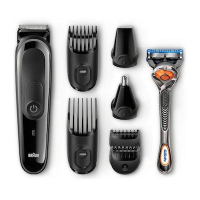 Braun 8-in-1 Beard/Hair Men's Rechargeable Electric Grooming Kit