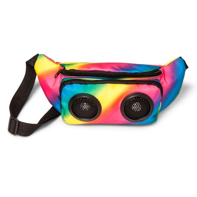 Rainbow Speaker Fanny Pack