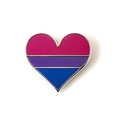 Rainbow Bisexual Pride Pin