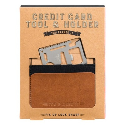 Credit Card Tool and Holder