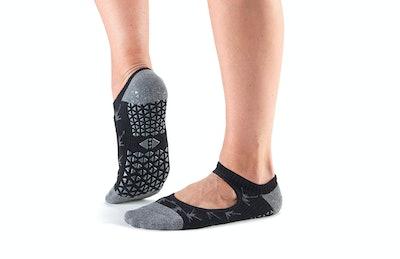 Tavi Noir Chey Mary Jane Fashion Grip Socks