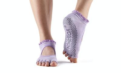 ToeSox Bella Half-Toe Grip Socks