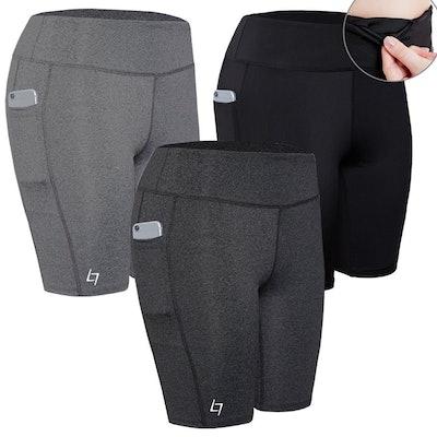 FITTIN Pocket Sports Shorts (Sizes S-XL)