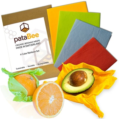 PataBee Beeswax Reusable Food Wrap