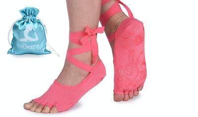 Muezna Ballet-Style Strap Socks