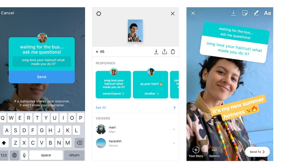 How to use instagrams new question sticker for stories because it how to use instagrams new question sticker for stories because itll change the way you use the app ccuart Gallery
