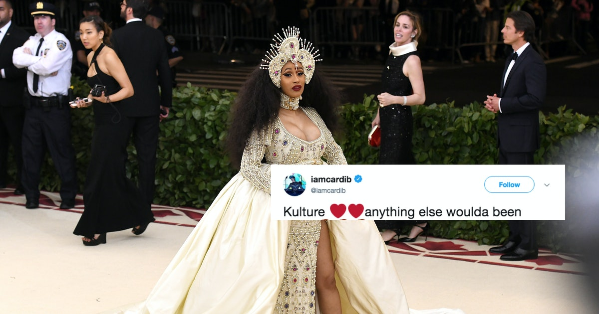 Why Did Cardi B Name Her Baby Kulture? This Tweet Clears Things Up