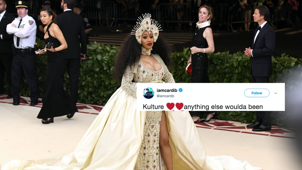 Why Did Cardi B Name Her Baby Kulture This Tweet Clears Things Up