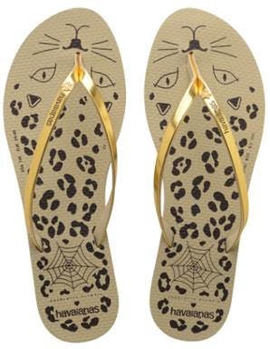 b514d06b6836 Havaianas x Charlotte Olympia Flip Flops Are Here   They re Beyond Purrrfect