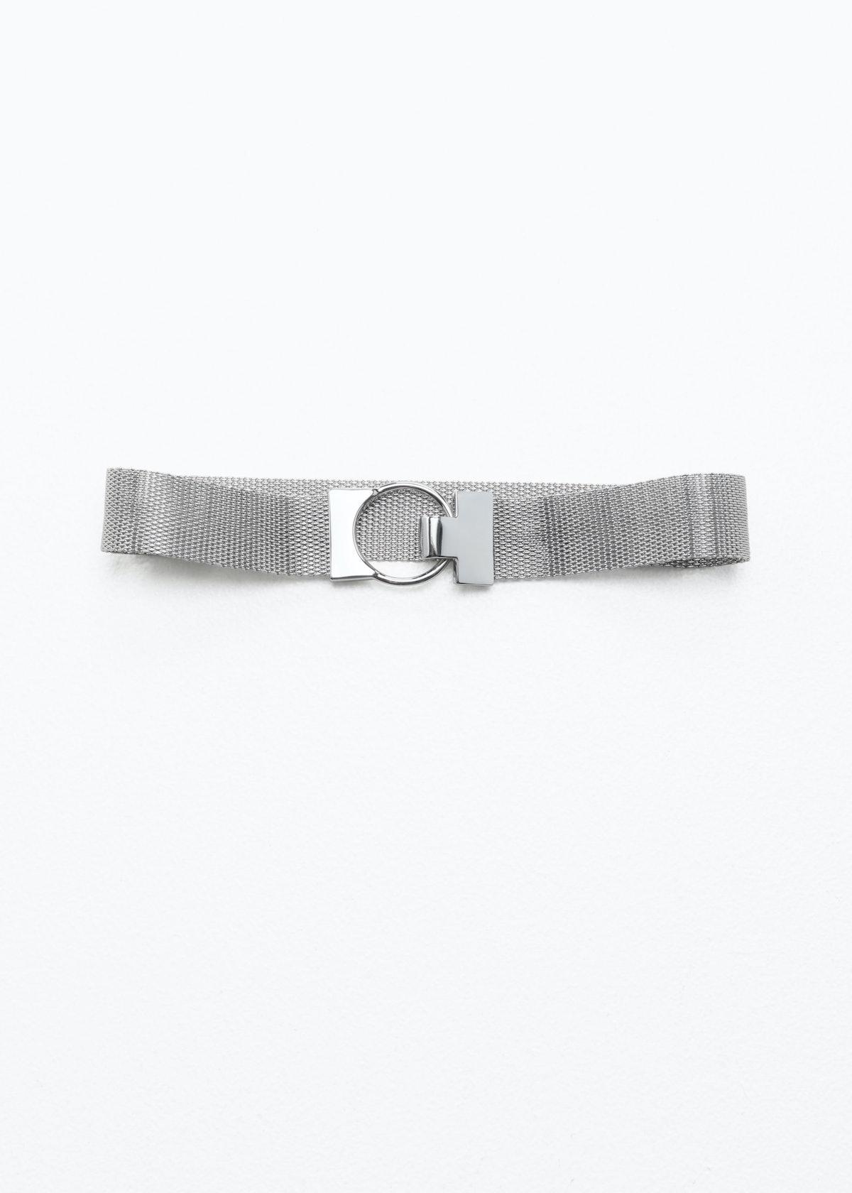 Circle Pendant Chain Choker