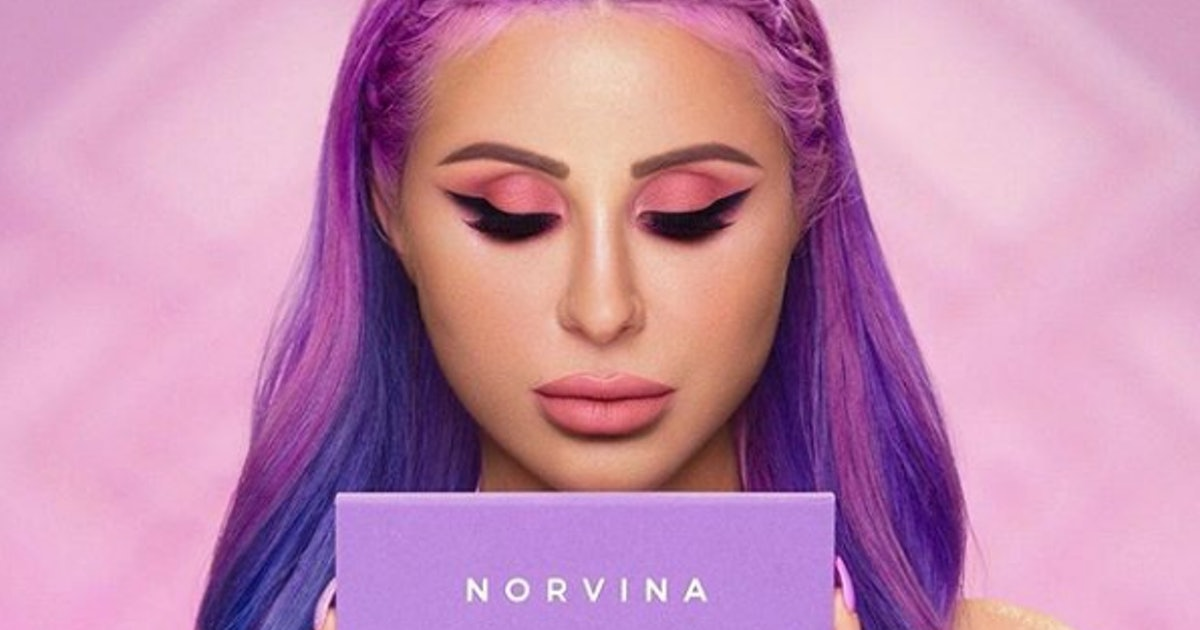 Swatches Of Anastasia Beverly Hills' Norvina Palette Prove It's All You Dreamed Of