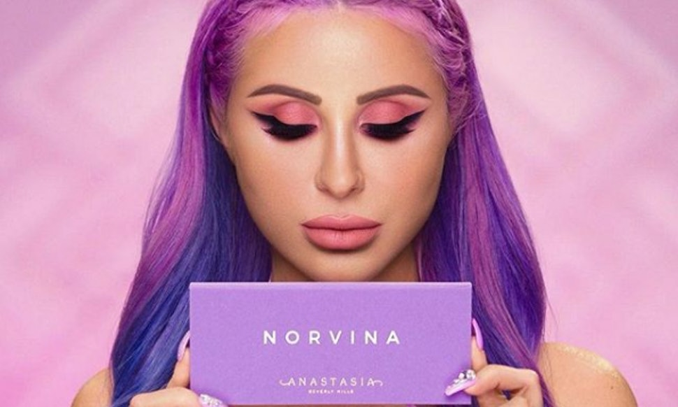 swatches of anastasia beverly hills 39 norvina palette prove it 39 s all you dreamed of. Black Bedroom Furniture Sets. Home Design Ideas