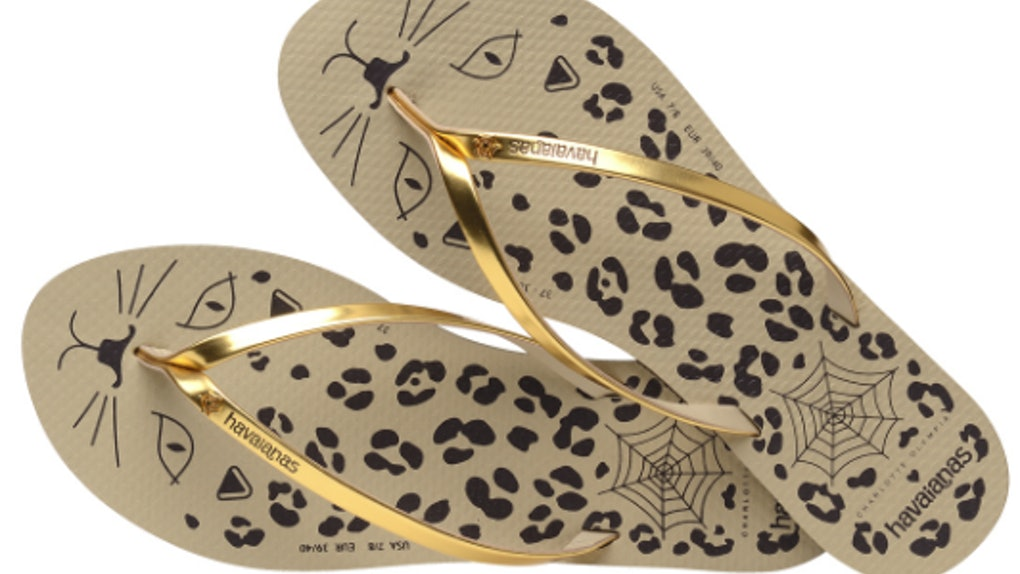 91d2c198476 Havaianas x Charlotte Olympia Flip Flops Are Here   They re Beyond Purrrfect