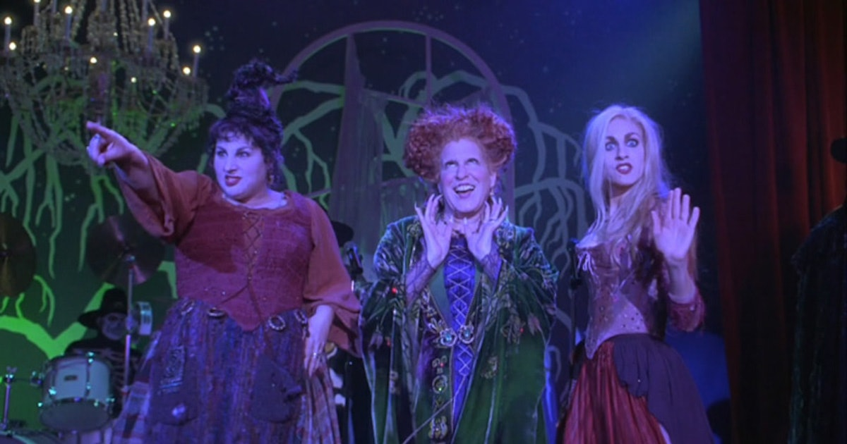 A 'Hocus Pocus' Oral History Of The Movie's Most Famous Scene, As Told By Cast & Crew