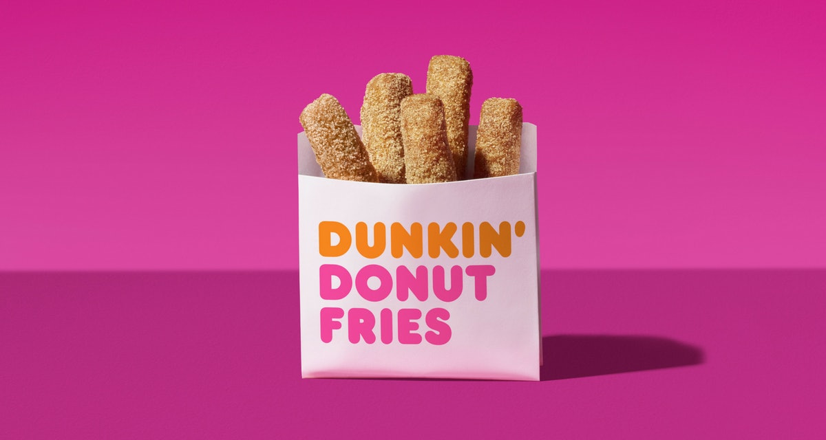 Dunkin' Is Giving Away Free Donut Fries This Week & BRB, I'm On My Way