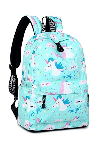 Gnirue (Winner) Unicorn Printing Women Backpacks
