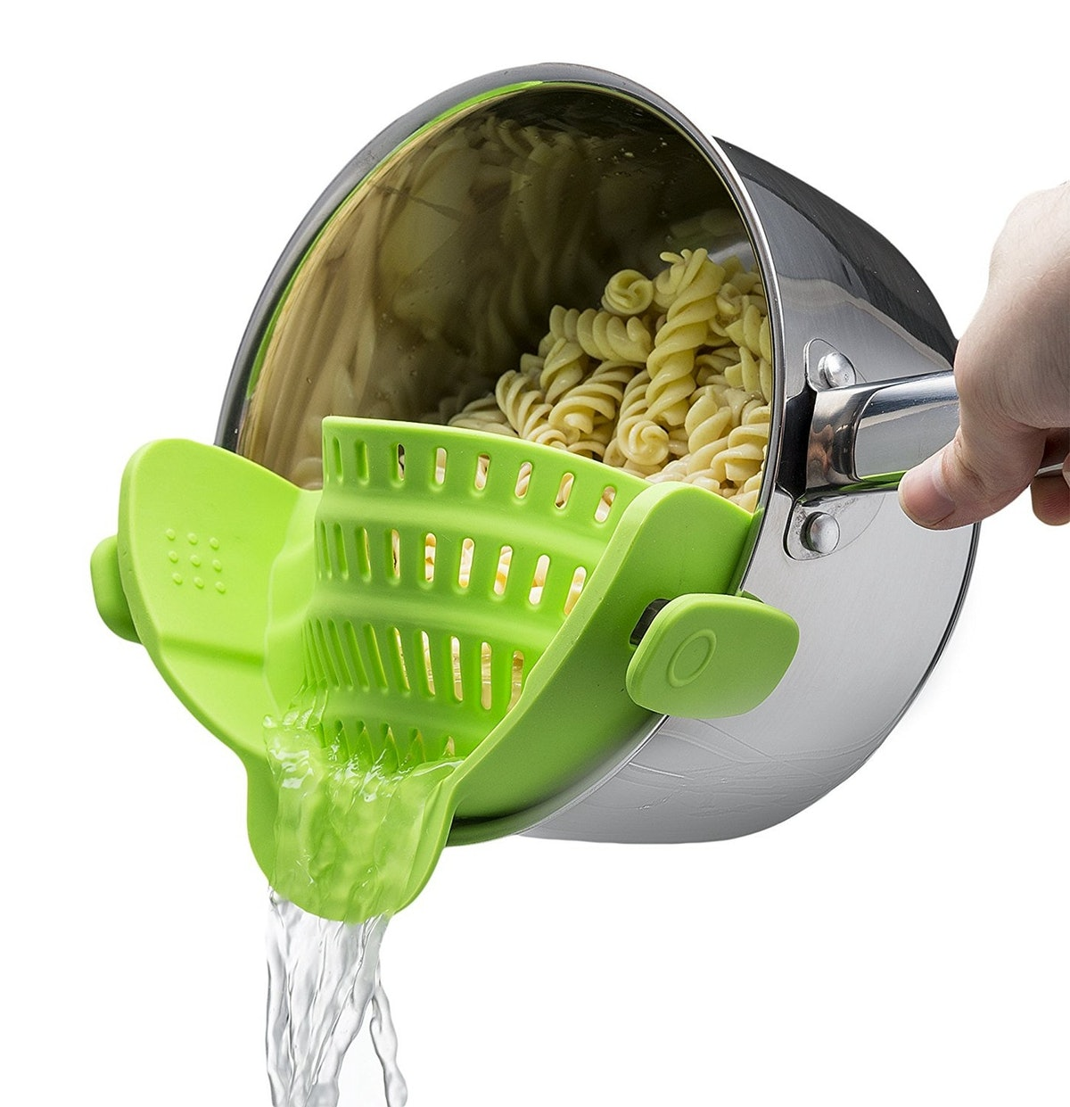 Official Mac Belk Clip-on Silicone Strainer