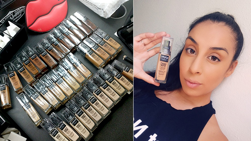 This NYX Can't Stop Won't Stop Foundation Review Will Hide All Your