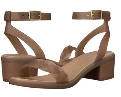 Crocs Women's Isabella Block Heel Wedge Sandal