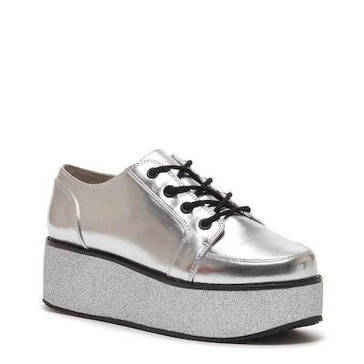 Raver Cali Silver Platform Sneaker