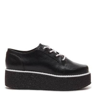 Raver Cali Black Platform Sneaker