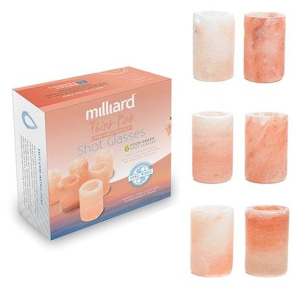 Milliard Premium Himalayan Salt Shot Glasses