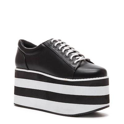 Acid Rock Black Platform Sneaker